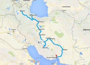 30 days in Iran: itinerary & costs