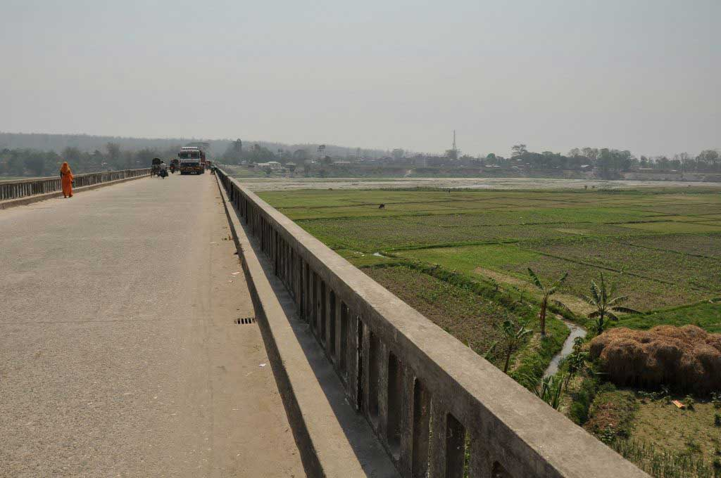 bridge at Panitanki-Kakarbitta border