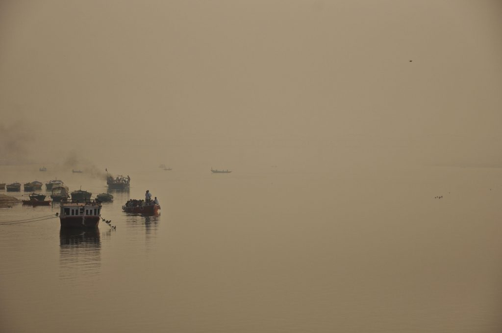 Ganga River. Varanasi. India