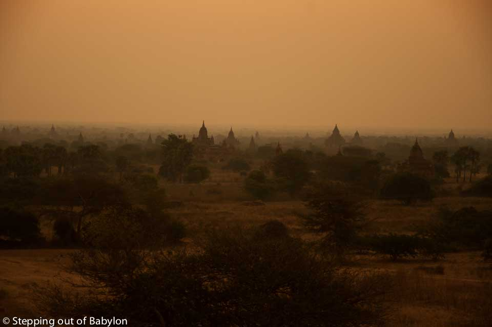 Sunrise at Bagan, Myanmar