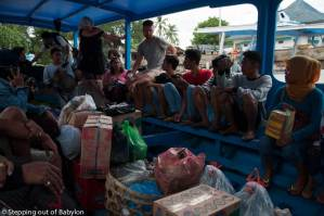 How to go from Lombok to Gilis by public transport