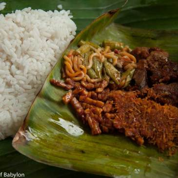 Nasi Campur… so simple and so delicious!!