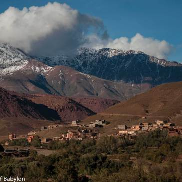 From the oasis to the desert… through the High Atlas
