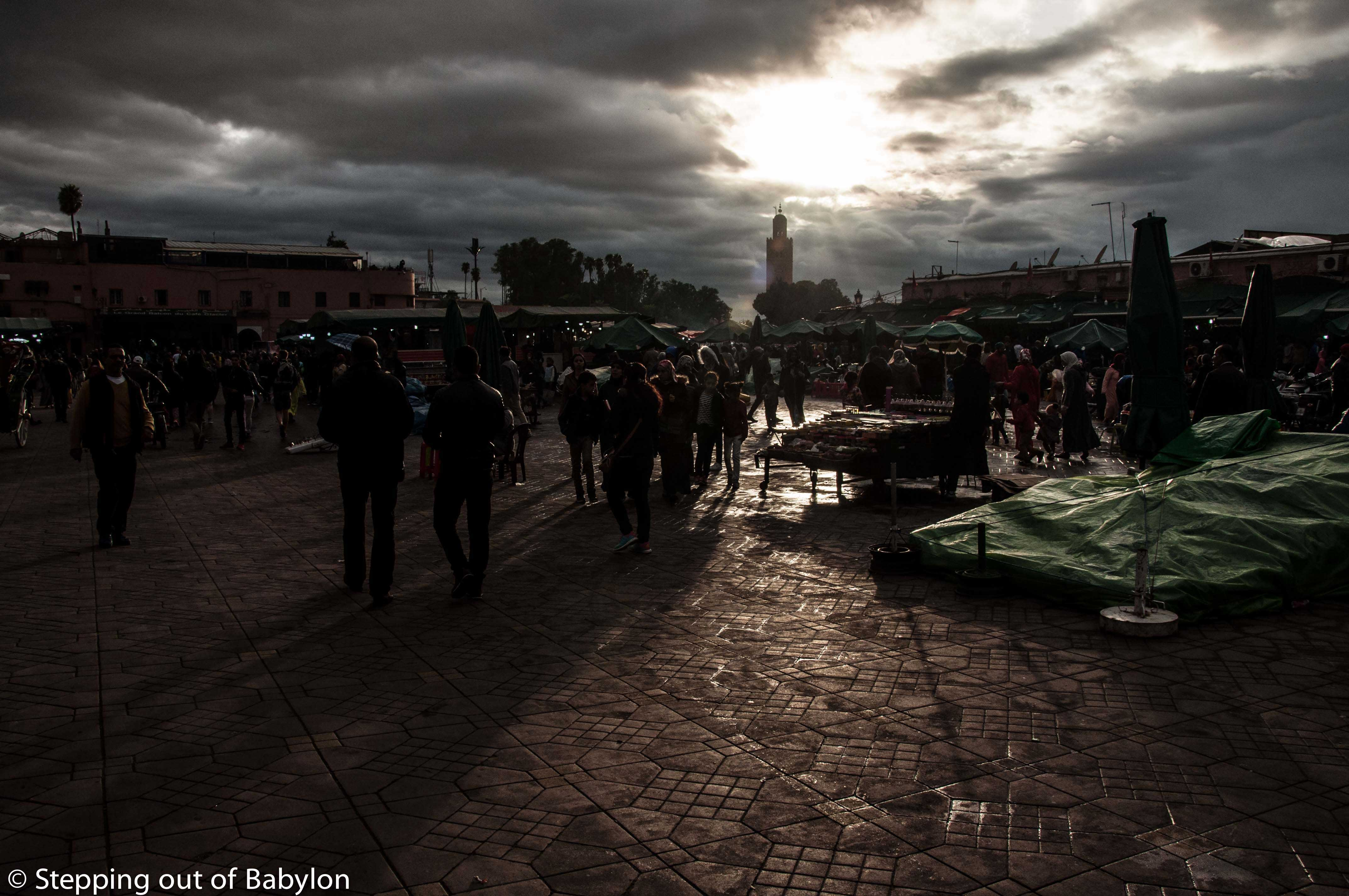 Marrakesh… the first contact with the Moroccan culture