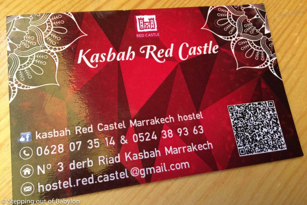 Kashah Red Castel Hostel. Contacts