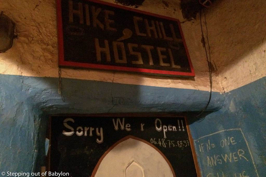 Hike and Chill Hostel in Tinghir