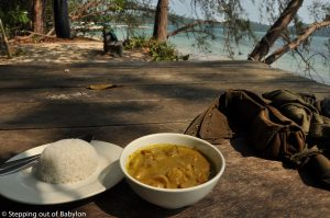 About the food in Cambodia