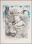 Alice in Wonderland Frank Brunner Plate 1