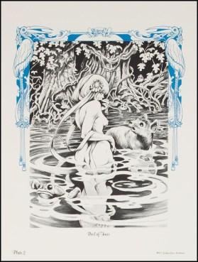 Alice in Wonderland Frank Brunner Plate 2