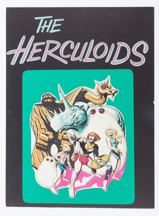 Alex Toth Herculoids