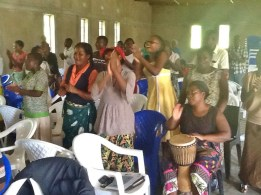Wonderful worship and a great drummer
