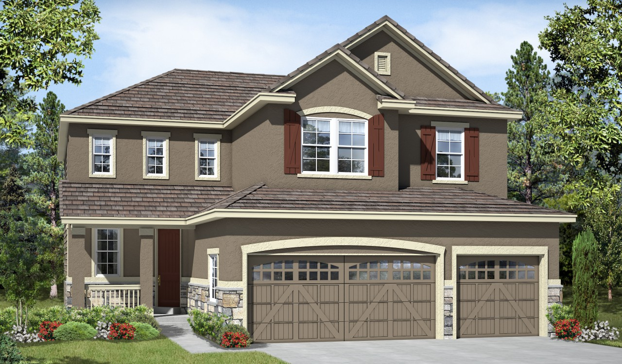 Richmond American Homes Parker, Co At Stepping Stone