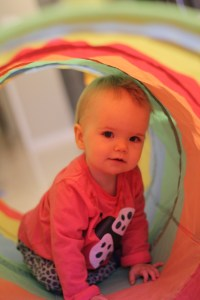 Who doesn't love a play tunnel!?