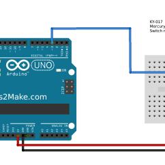 Light Wiring Diagram Loop Pj Trailer Brake Arduino Mercury Tilt Switch Module Ky-017 - Steps2make