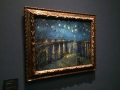 """Van Gogh's """"A Starry Night Over the Rhône"""""""