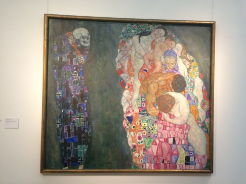 "Gustav Klimt's ""Death and Life"""