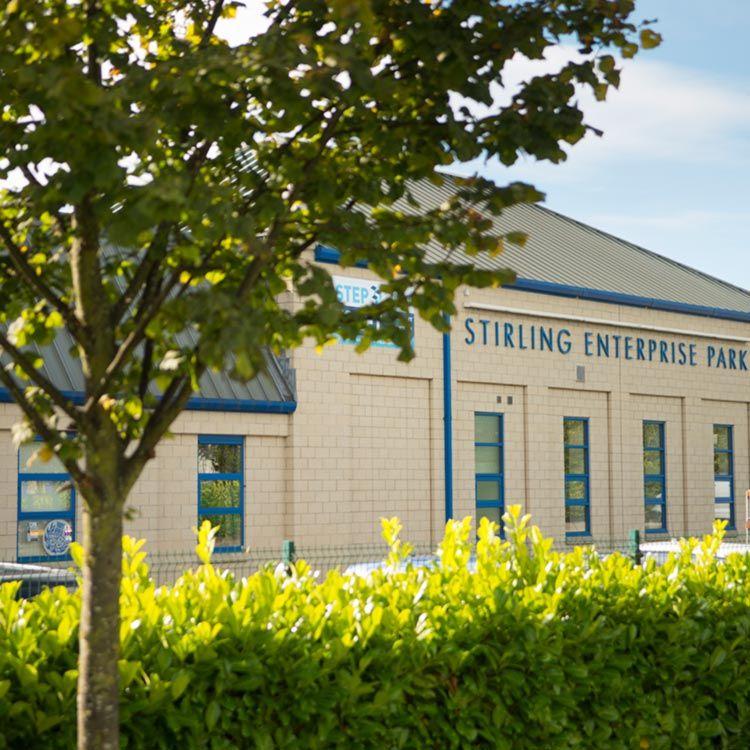 Stirling Enterprise Park Workshop Office Studio Storage Unit | STEP