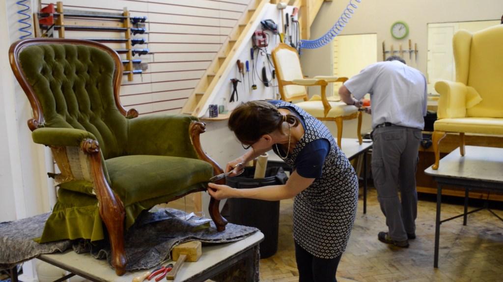 Upholstery Craft Training Centre   STEP Tenant   Business Premises   Workshops