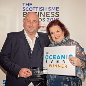 Kevin-Wilson-Joiners-Small-Business-Award-Pam-and-Kevin