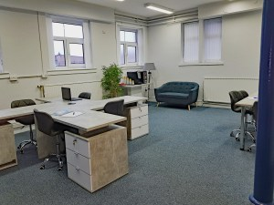 Shared Space Co Working Hot Desking Stirling