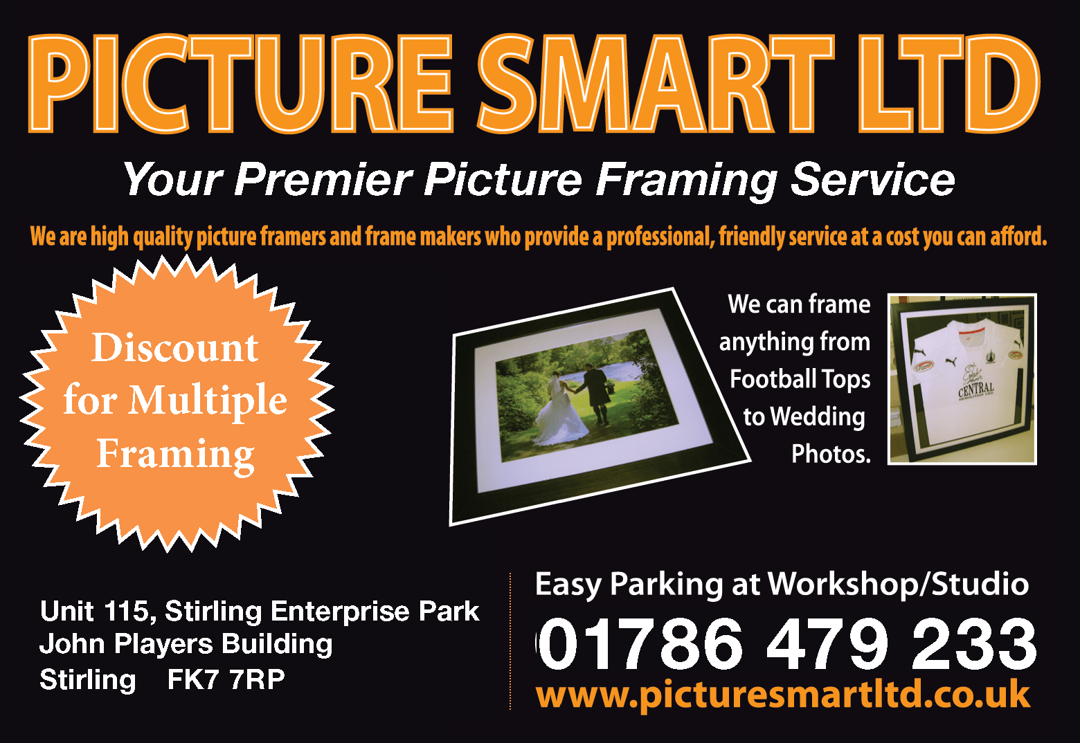 Picture Smart Ltd New Add for stirling