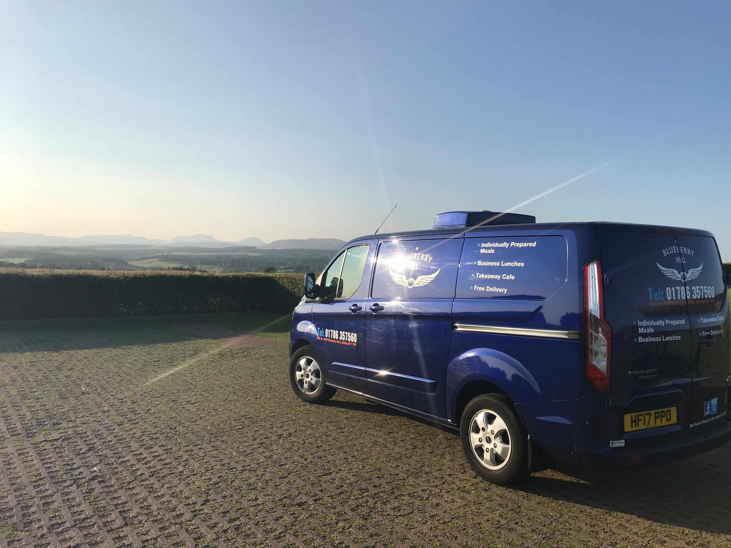Blueberry Hill Meals - David Stirling memorial