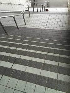 阪神競馬場前階段(Befor)