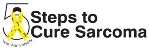 Steps to Cure Sarcoma 5 Yr Anniversary logo