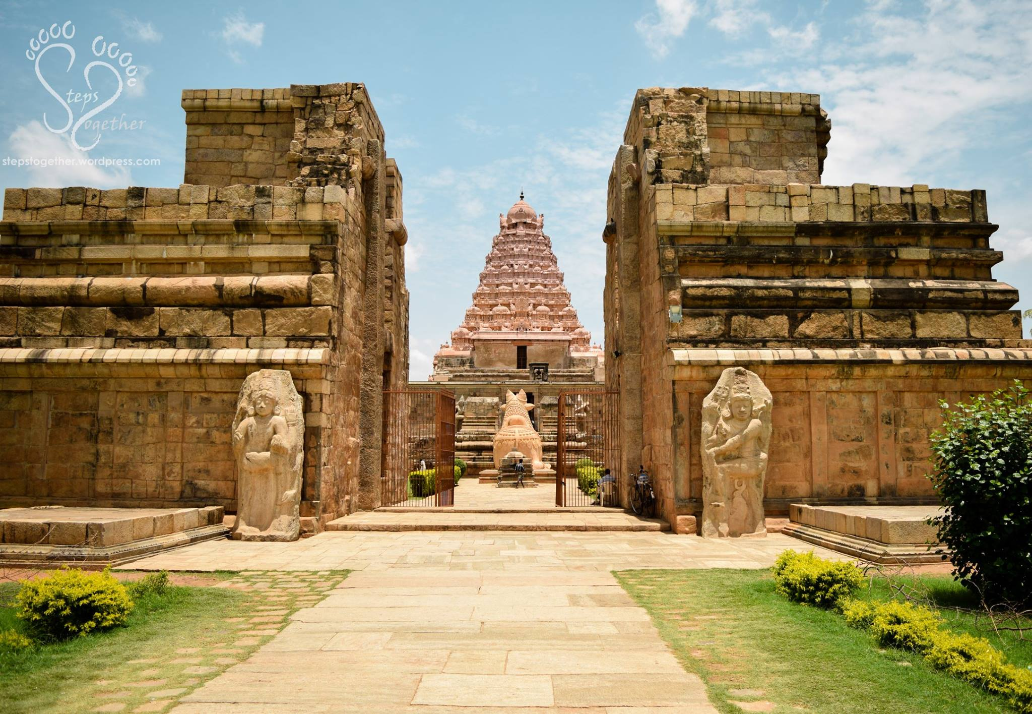 Gangaikonda Cholapuram Temple Entrance
