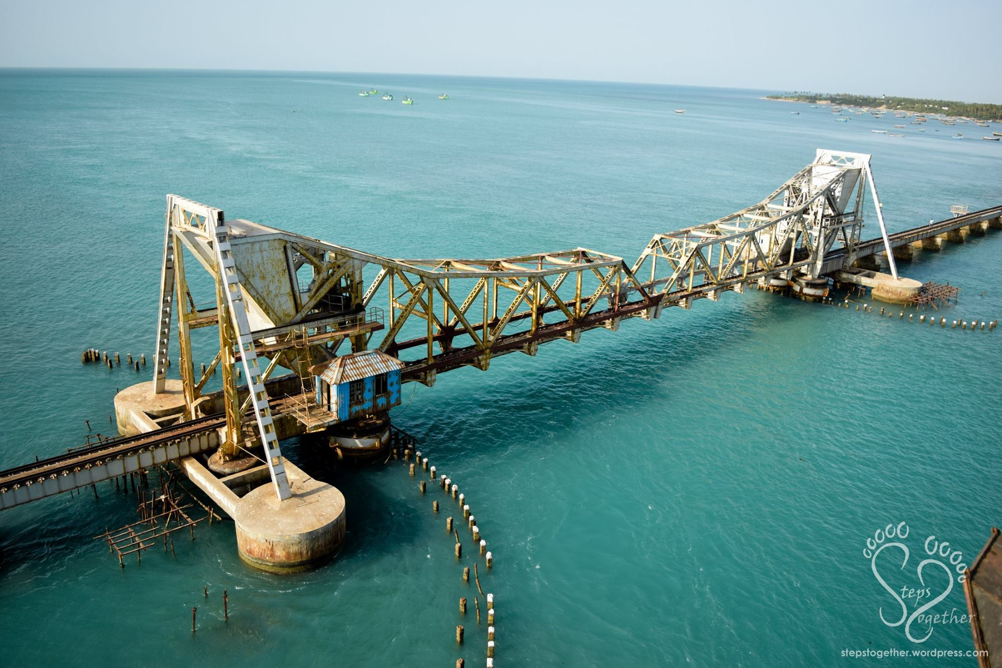 Cantilever Railway Bridge (Pamban Bridge)