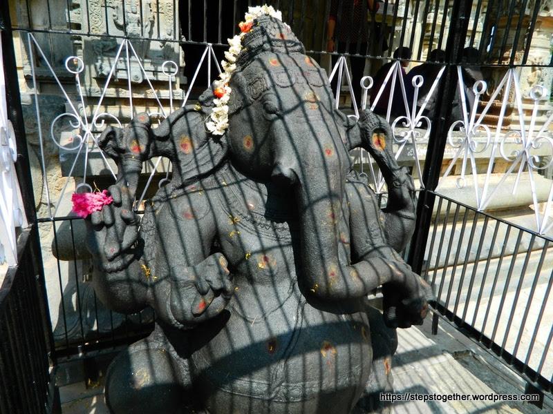 Ganesha idol in Someshwara Temple