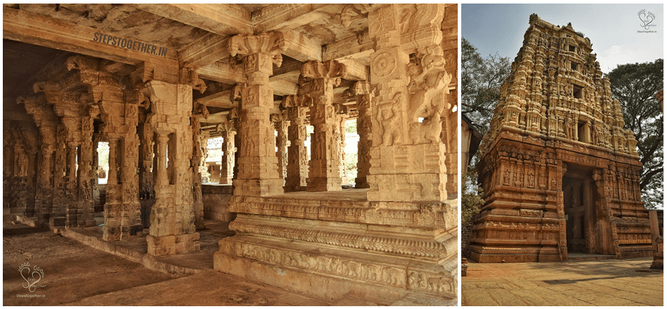 Someshwara Temple Entrance and Pillared Hall