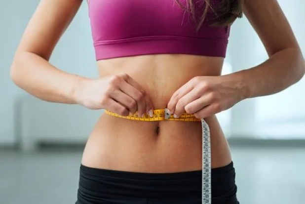 Losing inches around your waist from a ketogenic diet.