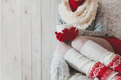 Носите чулки когда холодные ноги