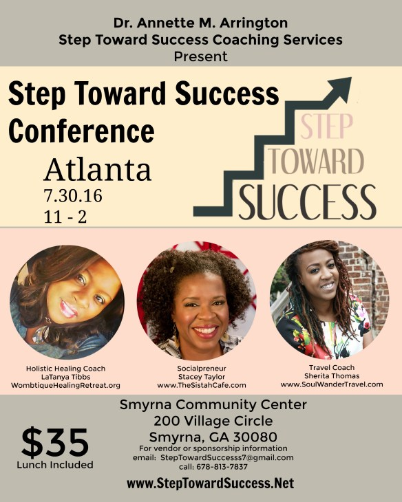 step toward success conference speakers