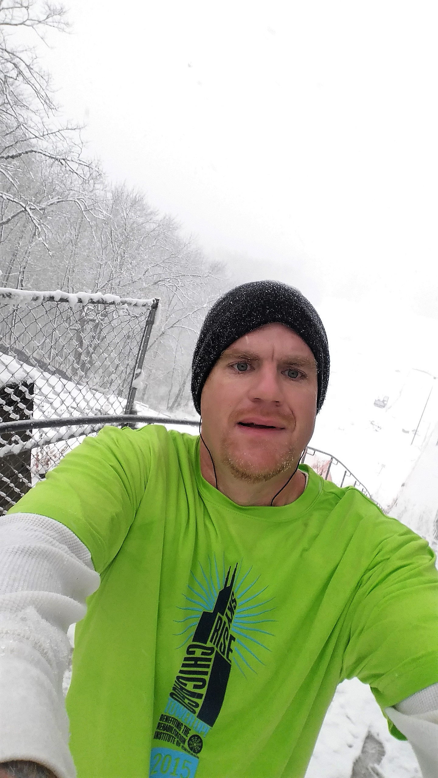 image of steve at Swallow Cliff Winter 2015