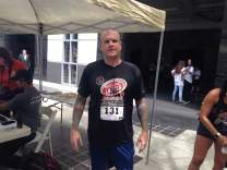 image of steve ready to climb at the San Diego Towerthon 2016
