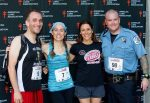 image of steve and other climbers at Fight For Air Climb Greenville, SC 2015