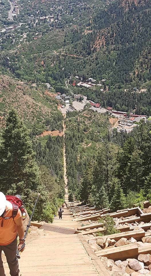 another view of the climb at Manitou Inline Colorado June2018