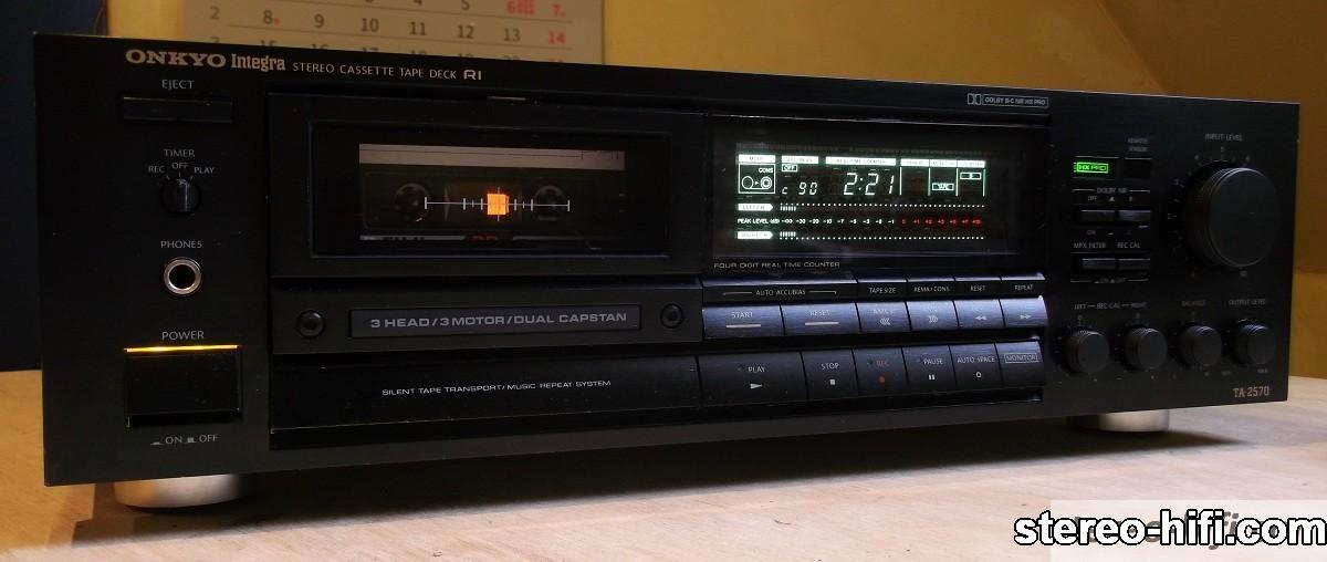 Onkyo Integra TA-2570 front black