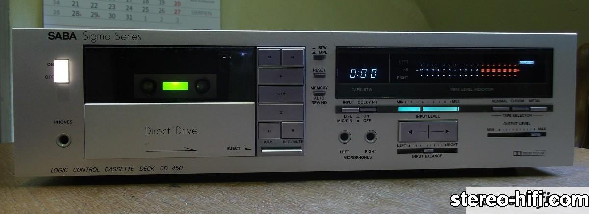 Saba CD-450 front