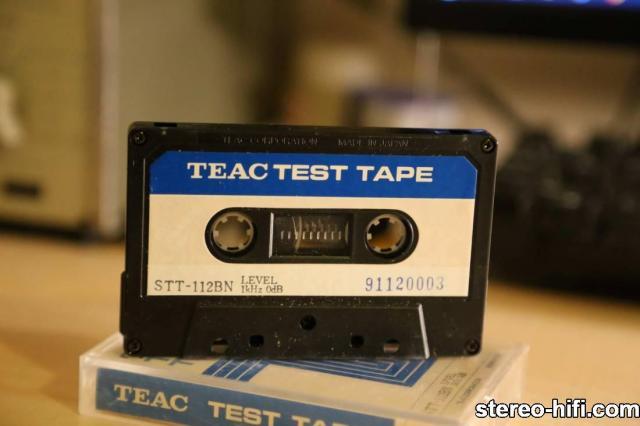 TEAC STT 112BN 3 Service tapes   Kasety serwisowe