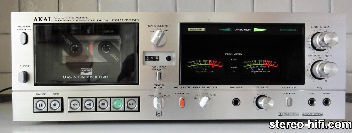 Akai GXC-735D front