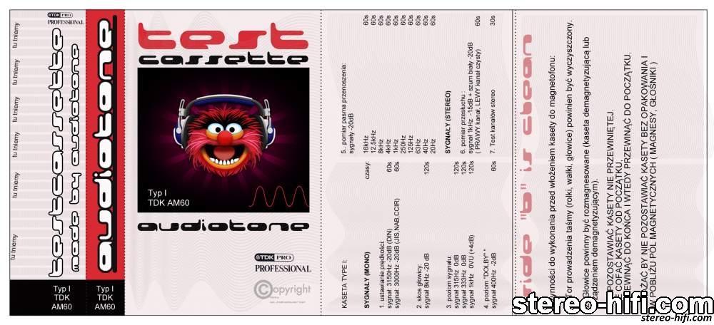 Kaseta serwisowa stereo-hifi.com