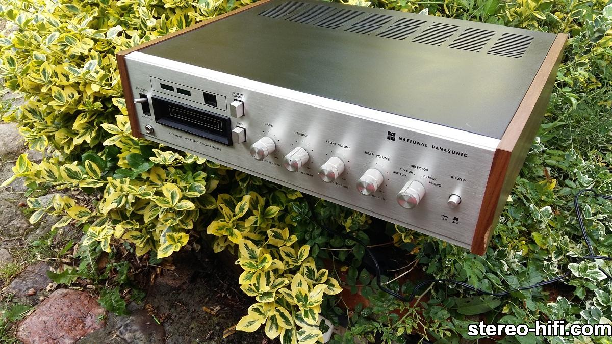 National Panasonic RS-840S front