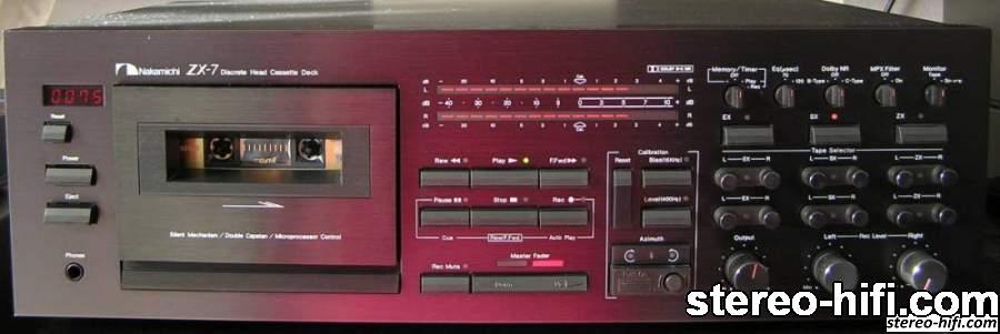 Nakamichi ZX-7 front