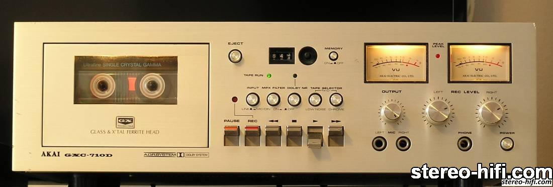 Akai GXC-710D front
