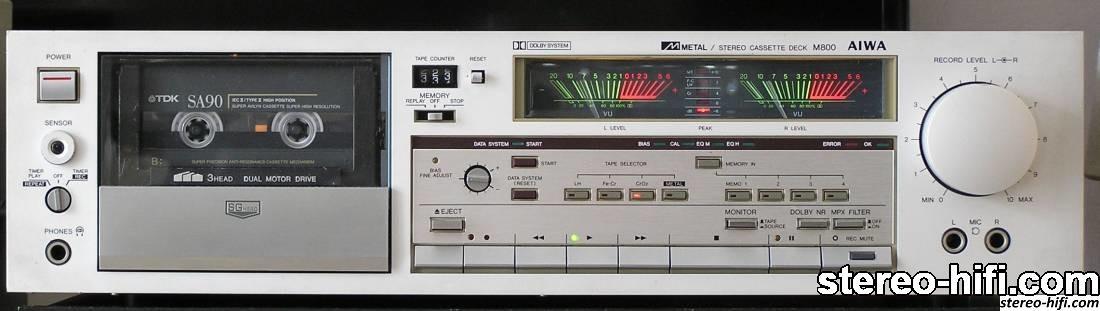 Aiwa AD-M800 front