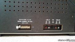 GX-646 gniazda wejścia-wyjścia