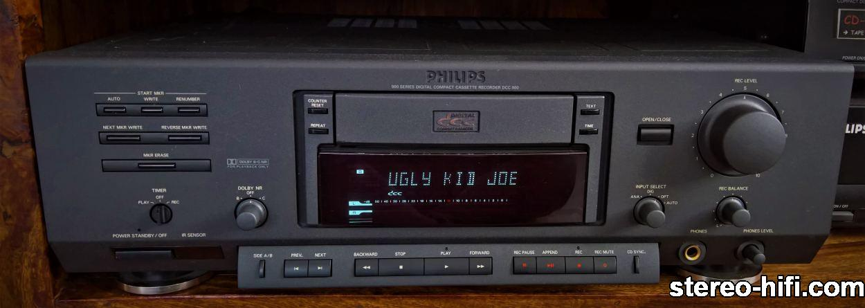 Philips DCC 900 front